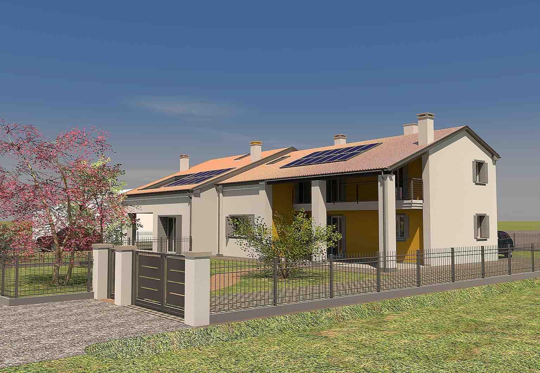 2014 bifamiliare piano casa geom paolo gollo for Aprire piani casa concetto