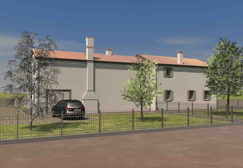 2014 bifamiliare piano casa geom paolo gollo for Artigiani piani casa fresca