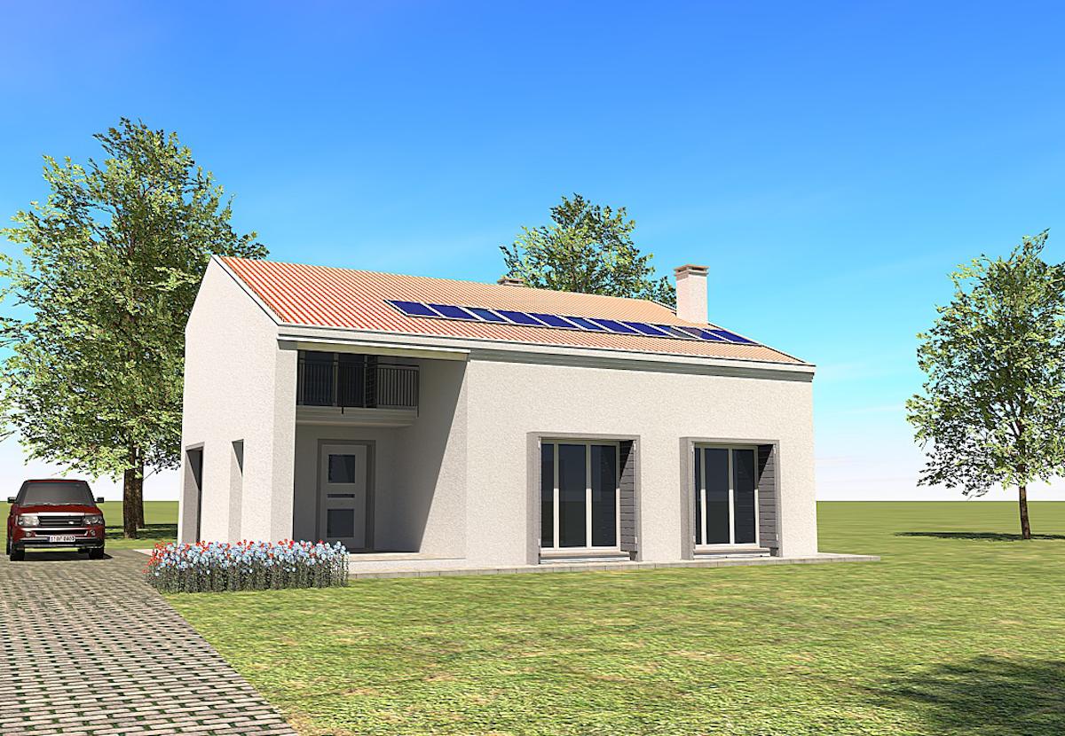 2014 casa singola piano casa geom paolo gollo for Aprire piani casa concetto