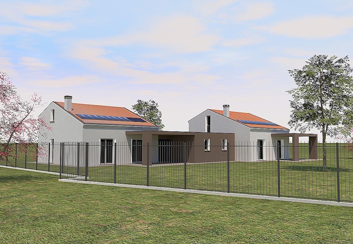 2014 piccola bifamiliare piano casa geom paolo gollo for Piani casa accessibili